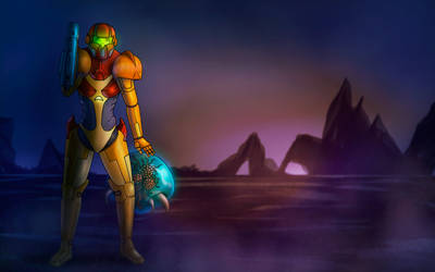 Samus from Metroid (NES)