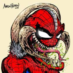Spider Man + Violator (Comic Character Mashup) by AaronRutten