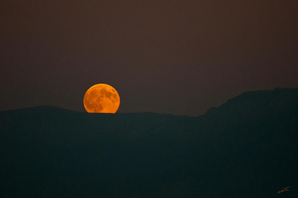 Moon Rising by stenialo