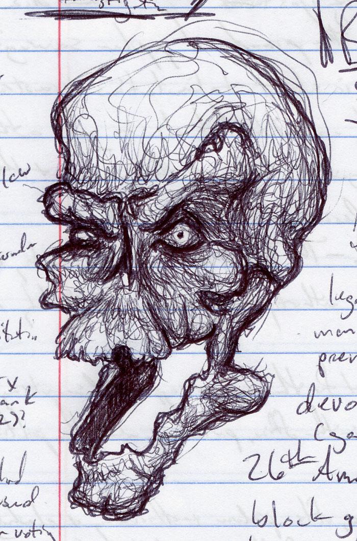 samhain doodle