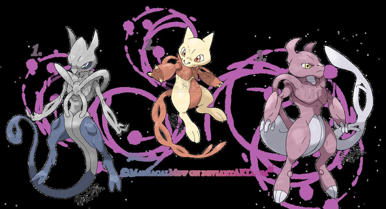Mewthree evolution