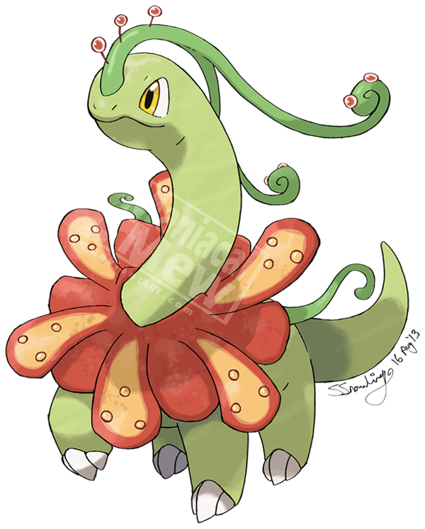 Tema  Mega pokemon  FAKE Pokemon Shiny Meganium