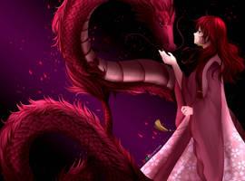 Yona and Hiryuu by Kyorin24