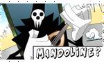 Stamp Shinigami Sama Mandoline by SpookyMuffin4545