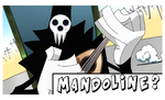 Stamp Shinigami Sama Mandoline by SpookyMuffin4545
