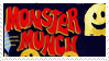 Monster Munch Stamp by SpookyMuffin4545