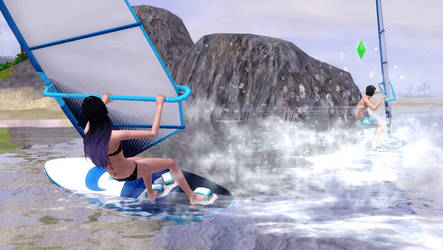 Windsurfing The Sims 3 by SpookyMuffin4545