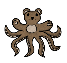 Bearoctopus by SpookyMuffin4545