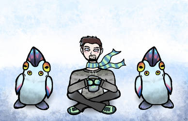 Hanging out with penglings