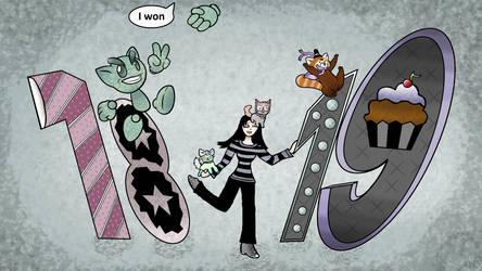DA 19th Birthday by Spooky Muffin :)