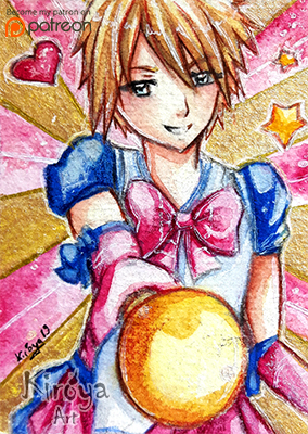 ACEO #193 - With the Power of Love by Kiroya19
