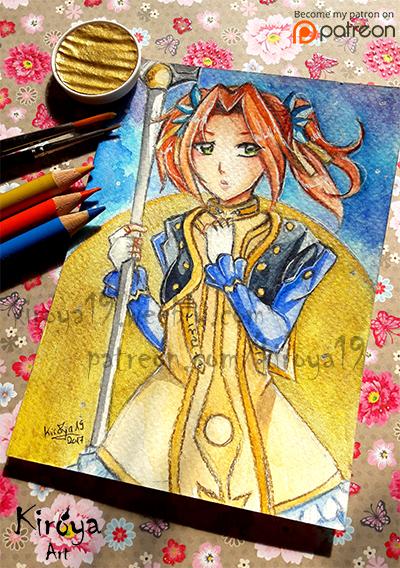Eleanor - Tales of Berseria - Postcard by Kiroya19