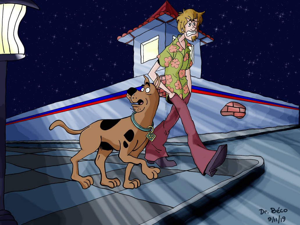 Scooby-doo and Shaggy Rogers