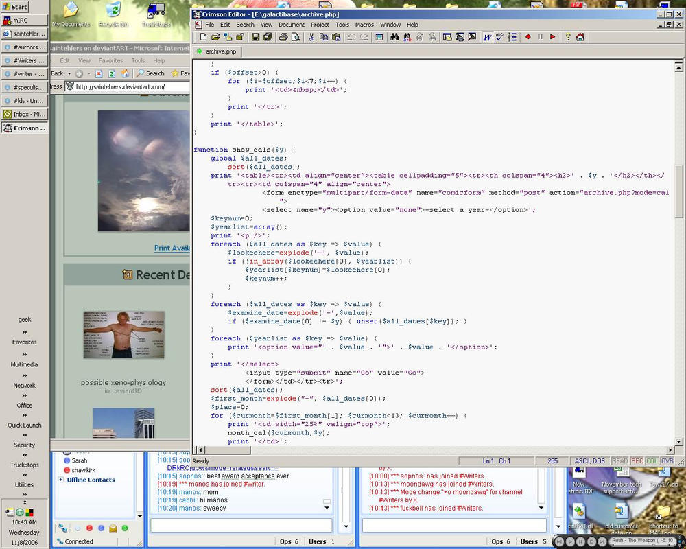 multitasking by saintehlers
