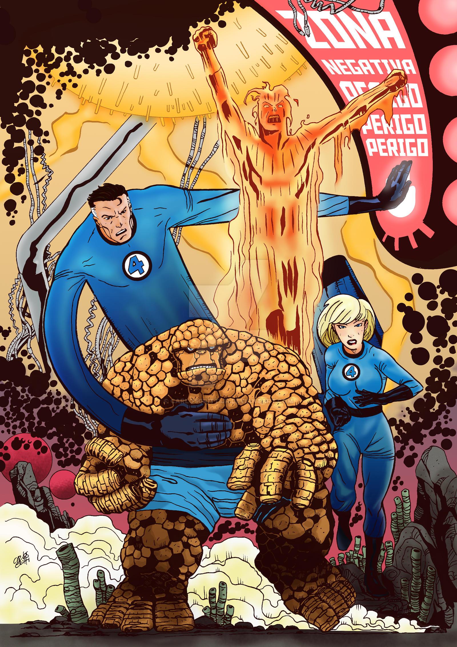 Fantastic Four by carlosgrittijr