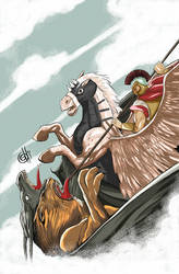 Capa - Belerofonte - O homem que queria ser Deus