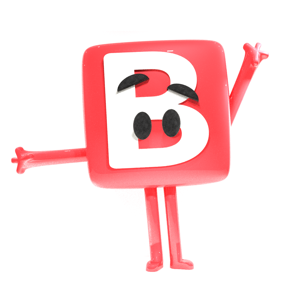 The B Button Emoji (The Emoji Movie) by epicboy511