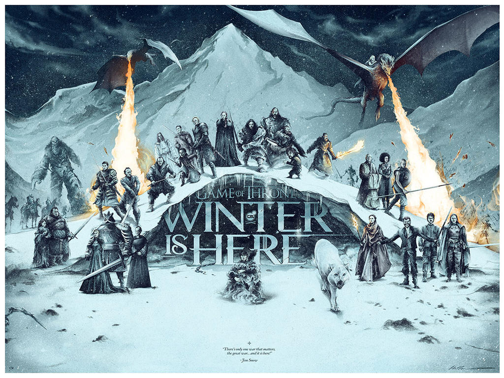WINTER IS HERE by ChrisBMurray