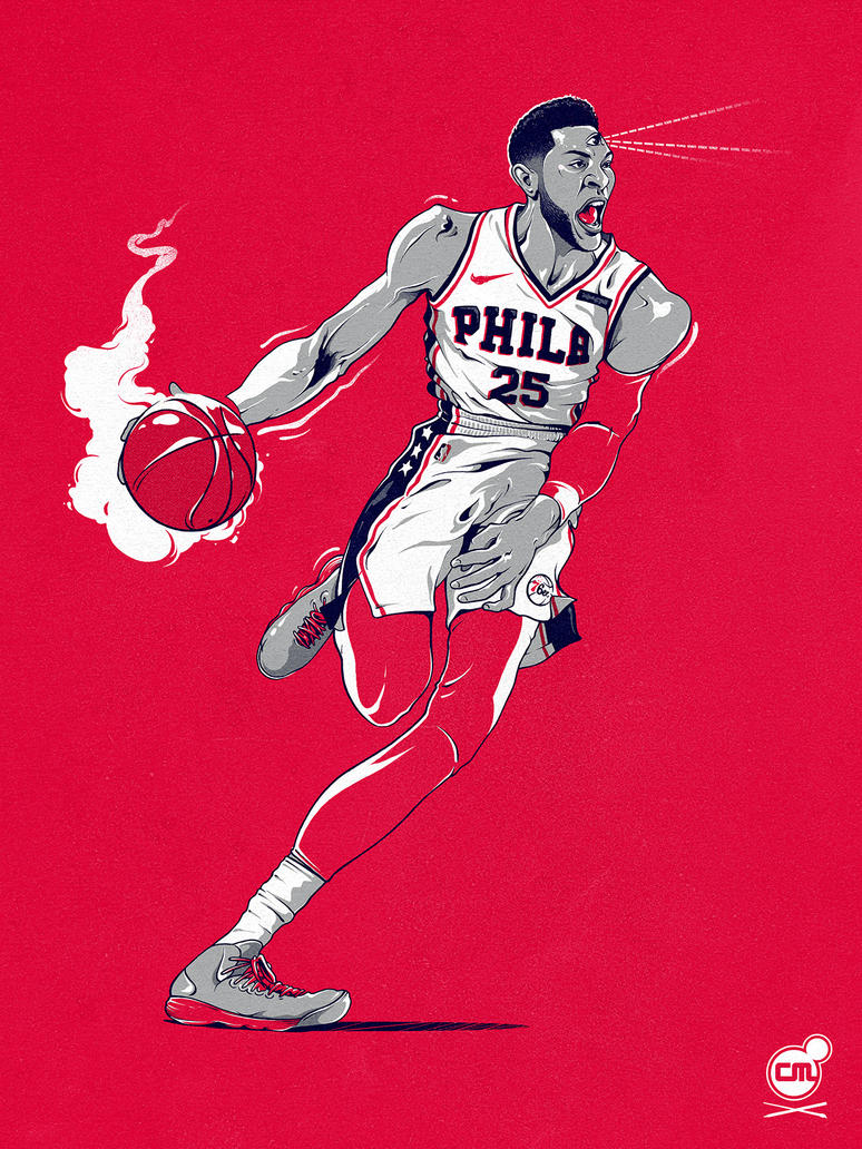 Ben The Visionary Simmons by ChrisBMurray