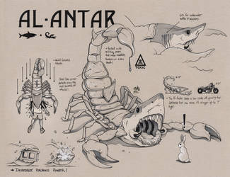 AL-ANTAR Concept Art (SAVAGE GAME) by ChrisBMurray