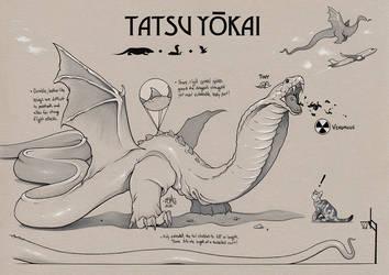 TATSU YOKAI Concept Art (Savage Game) by ChrisBMurray