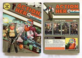 ACTION HERO Trap Toys