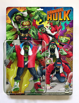 Cannibal Hulk x Trap Toys (FRONT)