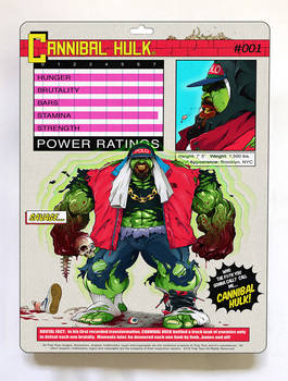 Cannibal Hulk x Trap Toys (BACK)