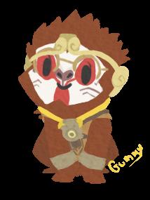 Wukong Winston Chibi by PastelGummies