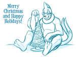 A Buizilla-y Christmas by buizelmaniac