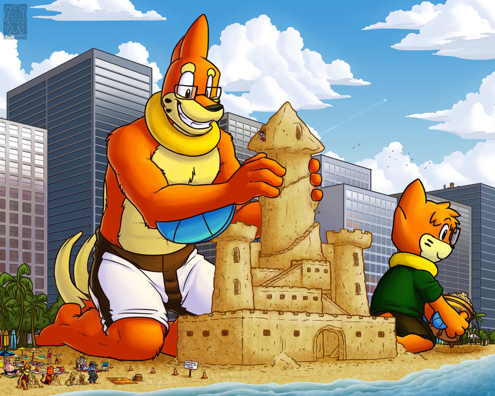 Giants and Castles by buizelmaniac on DeviantArt for Sandcastle Pokemon  51ane