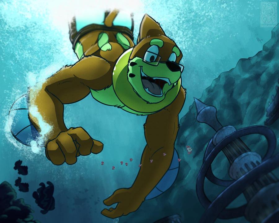 Dive by buizelmaniac