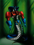 Optimus as naga