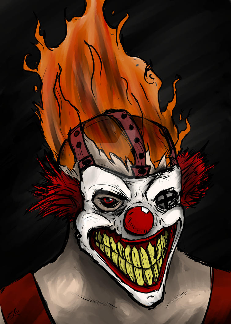 Twisted metal sweet tooth by dead symbiont on deviantart - Sweet tooth wallpaper twisted metal ...
