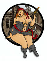 Big Pirate by Thickstyle