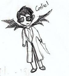 Castiel by HopeofNoah
