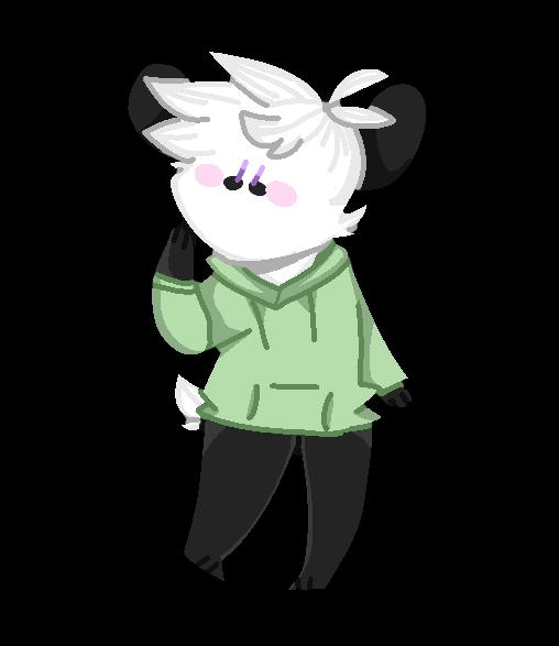 Page Doll Panda by djpanda2
