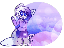 [Gift] Cotton Candy Baby by That-Black-Rabbit