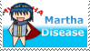 Martha Disease Stamp by FlareTornado