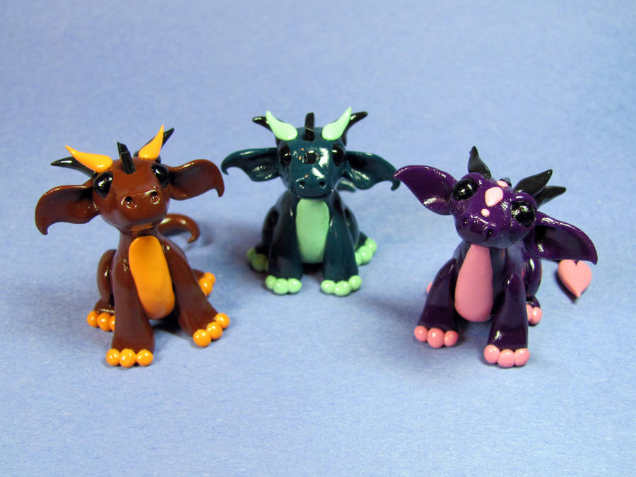 Dumbo-eared Dragons by DragonsAndBeasties