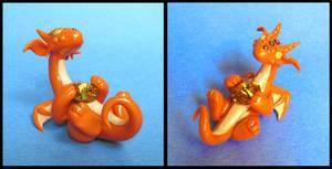 Topaz Orange Dragon