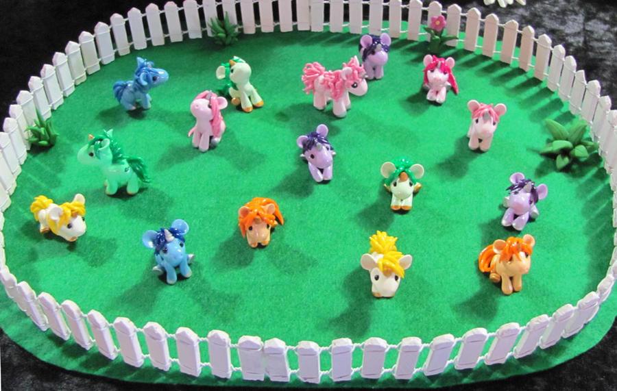 Baby Unicorns by DragonsAndBeasties