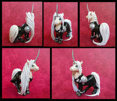 Sephiroth Unicorn by DragonsAndBeasties