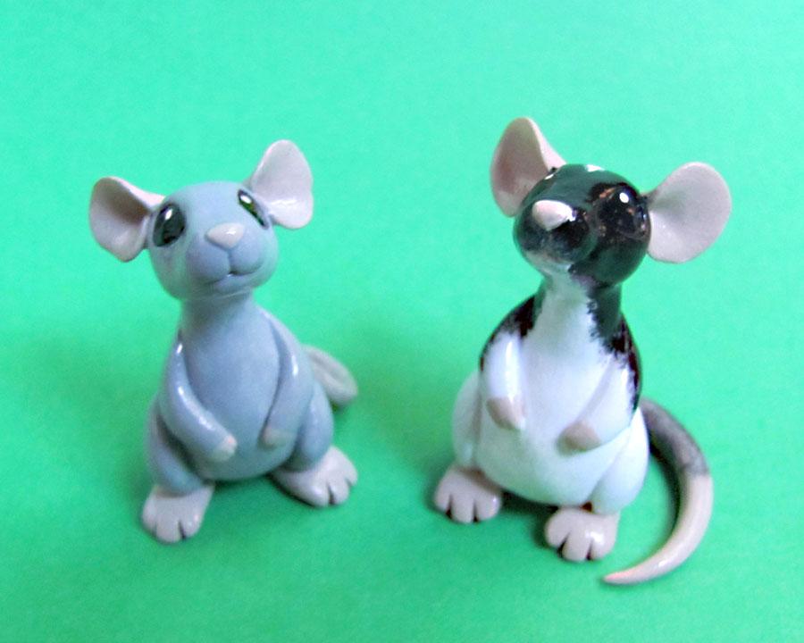 2 Little Ratties by DragonsAndBeasties