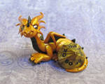 Golden Dice Dragon