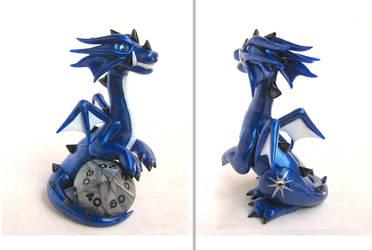 Polaris the Dice Dragon by DragonsAndBeasties