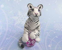 White Tiger with Dice