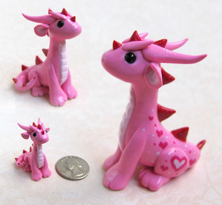 Pink Valentine Dragon By DragonsAndBeasties ...