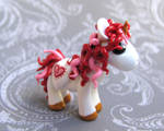Red Valentine Unicorn