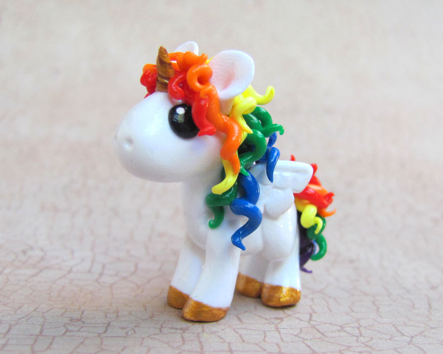 Unicorn With Wings And Rainbow Winged Rainbow Unicorn by